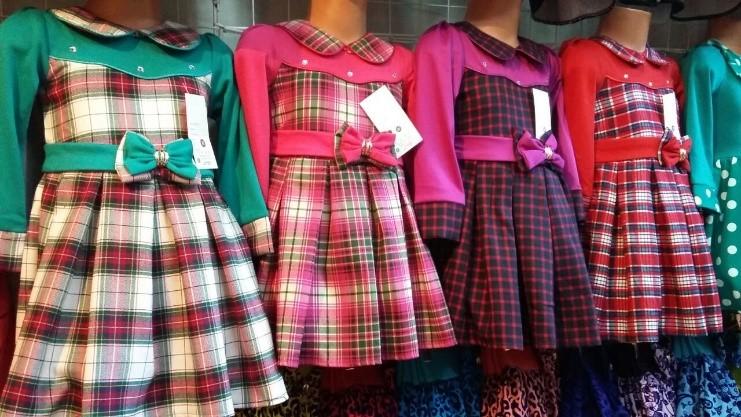 Что такое группы детской одежды рядами?