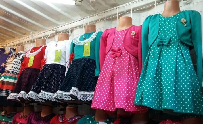 Что такое детская одежда рядами?