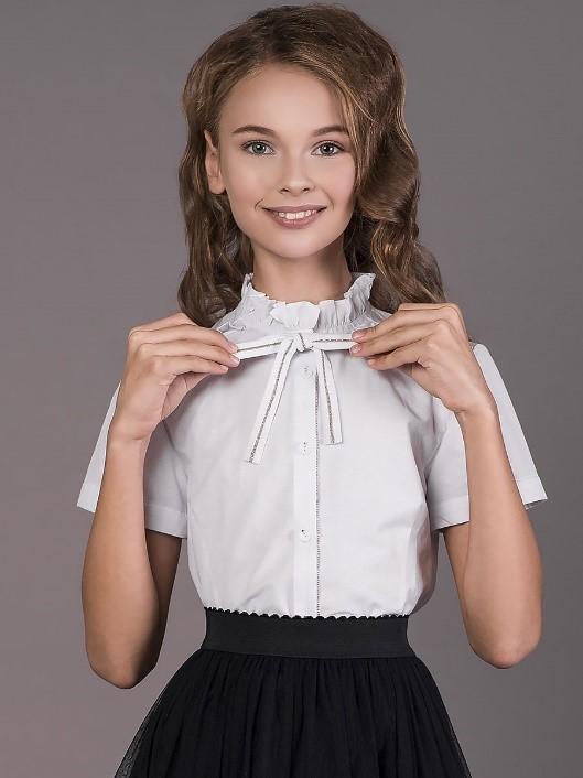 Детская блузка в школу
