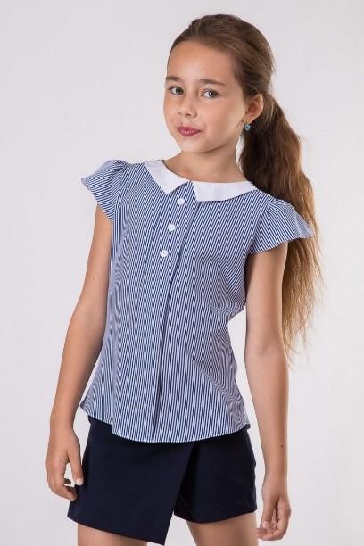 Виды школьный блузка для девочек