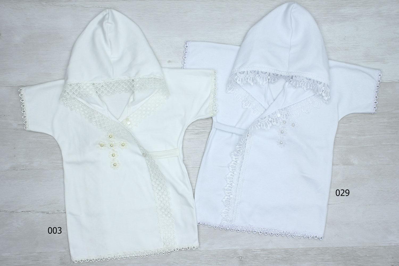 к534 (9250) Рубашка крестильная трикотаж [68/74]_1