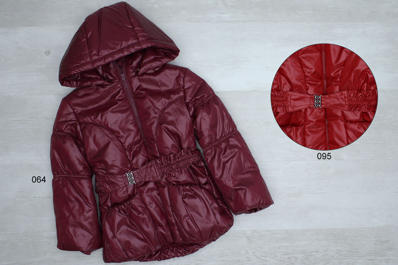 ю05 (1423) Куртка дев плащ.подклад хб, утеплитель 100% пэ 1