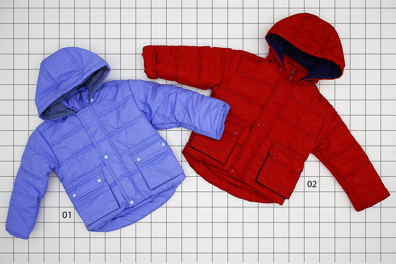 ю22 (1270) Куртка мал плащ.подклад хб, утеплитель 100% пэ 1