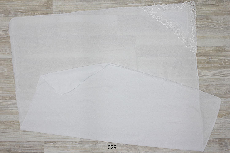 Пеленка уголок на выписку размеры