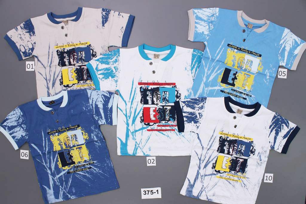 375-1 футболка мальч трикотаж (6-8-10-11) 4